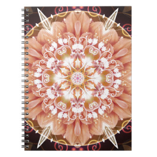 Mandalas from the Heart of Freedom 2 Gifts Spiral Notebooks