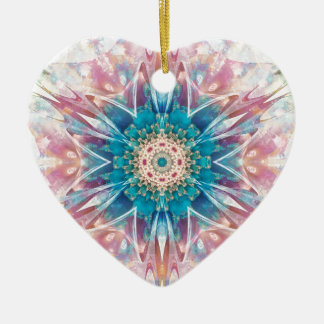 Mandalas from the Heart of Freedom 30 Gifts Ceramic Heart Decoration