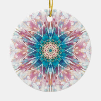 Mandalas from the Heart of Freedom 30 Gifts Ceramic Ornament
