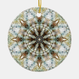 Mandalas from the Heart of Freedom 3 Gifts Ceramic Ornament
