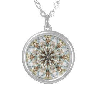 Mandalas from the Heart of Freedom 3 Gifts Silver Plated Necklace