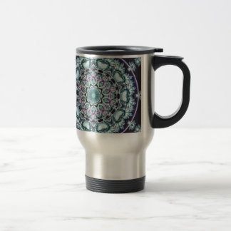 Mandalas from the Heart of Freedom 4 Gifts Travel Mug
