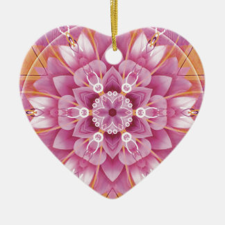 Mandalas from the Heart of Freedom 5 Gifts Ceramic Heart Decoration