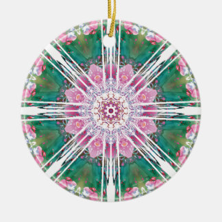 Mandalas from the Heart of Freedom 7 Gifts Round Ceramic Decoration