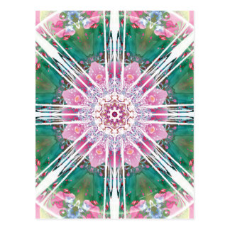 Mandalas from the Heart of Freedom 7 Postcard