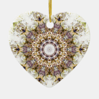 Mandalas from the Heart of Freedom 9 Gifts Ceramic Heart Decoration