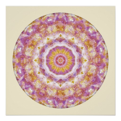 Mandalas from the Heart of Peace, No. 4 Posters
