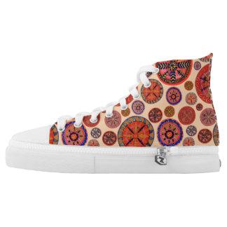 Mandalas High Top Sneakers