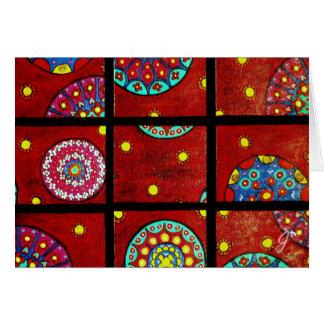 Mandalas In Motion Greeting Card