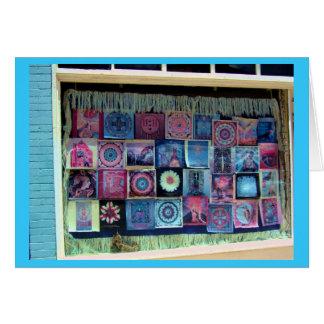 Mandalas in the Window Card