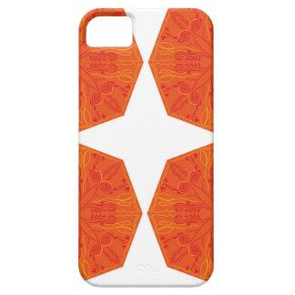 Mandalas : Nostalgia edition Orange iPhone 5 Cover