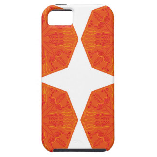 Mandalas : Nostalgia edition Orange iPhone 5 Covers