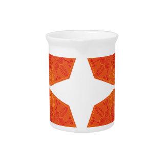 Mandalas : Nostalgia edition Orange Pitcher