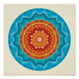 Mandalas of Deep Trust, No. 8 Poster