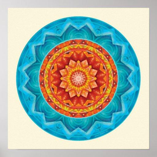 Mandalas of Deep Trust, No. 8 Print