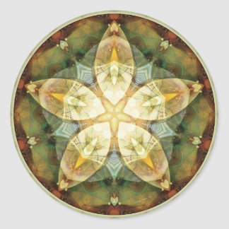 Mandalas of Forgiveness and Release 1 Round Sticker
