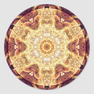 Mandalas of Forgiveness and Release 4 Round Sticker