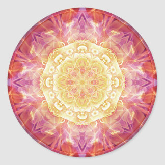 Mandalas of Forgiveness and Release 9 Classic Round Sticker