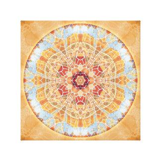 Mandalas of Forgiveness & Release 17 Canvas Wrap Stretched Canvas Print