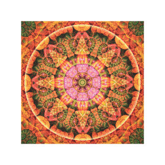 Mandalas of Forgiveness & Release 21 Canvas Wrap Canvas Print