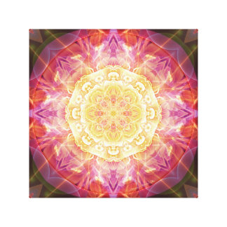 Mandalas of Forgiveness & Release 9 Wrapped Canvas Canvas Print