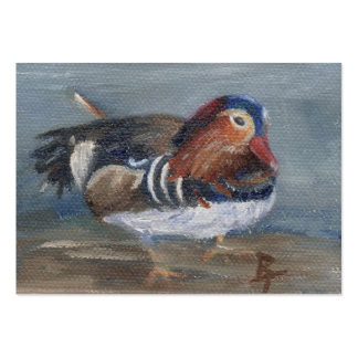 Mandarin Duck Art Card Business Card Templates