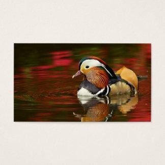 Mandarin Duck Business Card