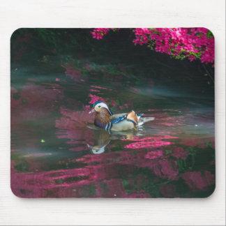 Mandarin duck mousepad
