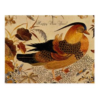 Mandarin Duck Postcard