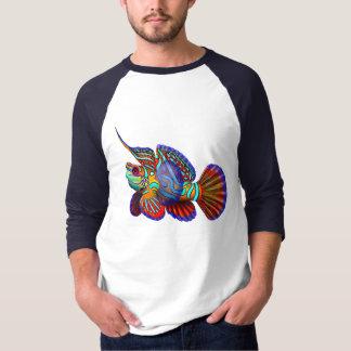 Mandarin Goby Dragonet Fish Jersey T-Shirt