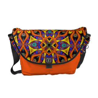 Mandarin Magic Messenger Bag