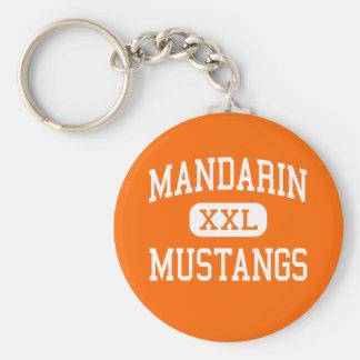 Mandarin - Mustangs - High - Jacksonville Florida Key Ring