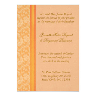 Mandarin Wedding Invitation