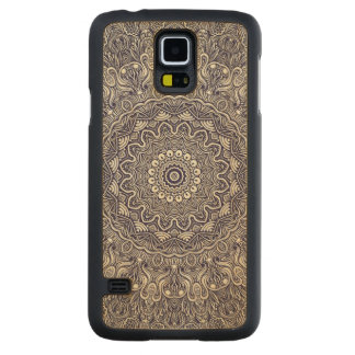Mandela Blues Maple Galaxy S5 Slim Case