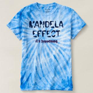Mandela Effect It's Happening Mens Tie-Dye T-Shirt
