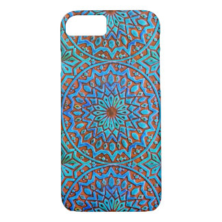 Mandela Moroccan Tile design iPhone 7 Case