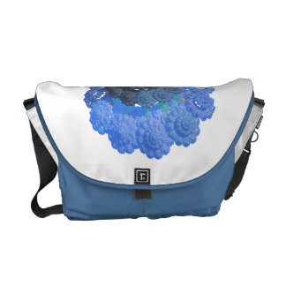 Mandelbrot Art Shell Commuter Bag