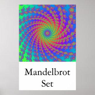 Mandelbrot Set (15 arm spiral) Poster