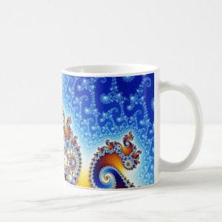 Mandelbrot Set Two-Dimensional Fractal Shape Coffee Mug
