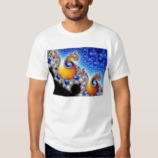 Mandelbrot Set Two-Dimensional Fractal Shape Tee Shirt