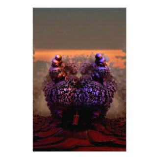 Mandelbulb-11 Stationery Design