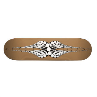 Mandible Tan Skateboard Deck