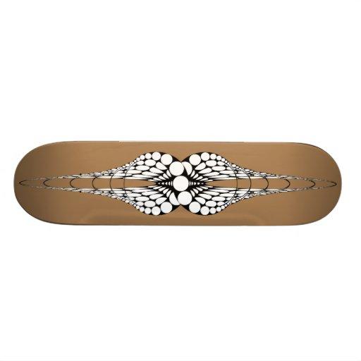 Mandible (Tan) Skateboard Deck