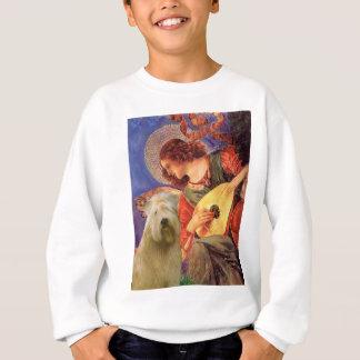Mandolin Angel - Wheaten Terrier 2C Sweatshirt