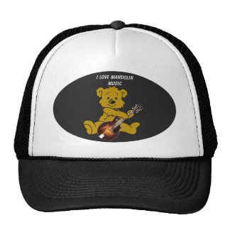 MANDOLIN BEAR -HAT