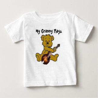 MANDOLIN BEAR-T-SHIRT BABY T-Shirt