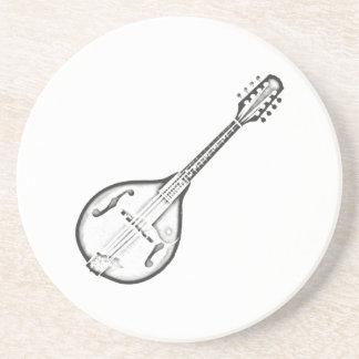 """Mandolin """"Drawing"""" Coaster"""
