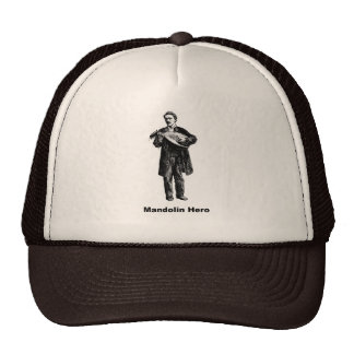 Mandolin Hero Cap