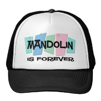 Mandolin Is Forever Hats