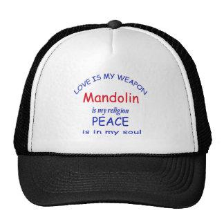 mandolin is my religion cap